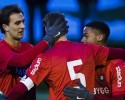 Fotboll, TrŠningsmatch, …rgryte - Landskrona
