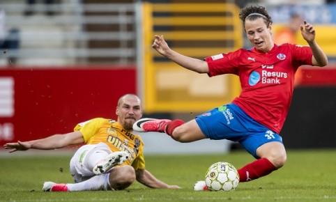 Fotboll, Superettan, Helsingborg - Falkenberg